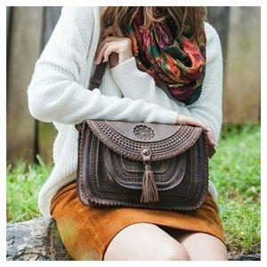 Patricia Nash Crossbody Leather Bag